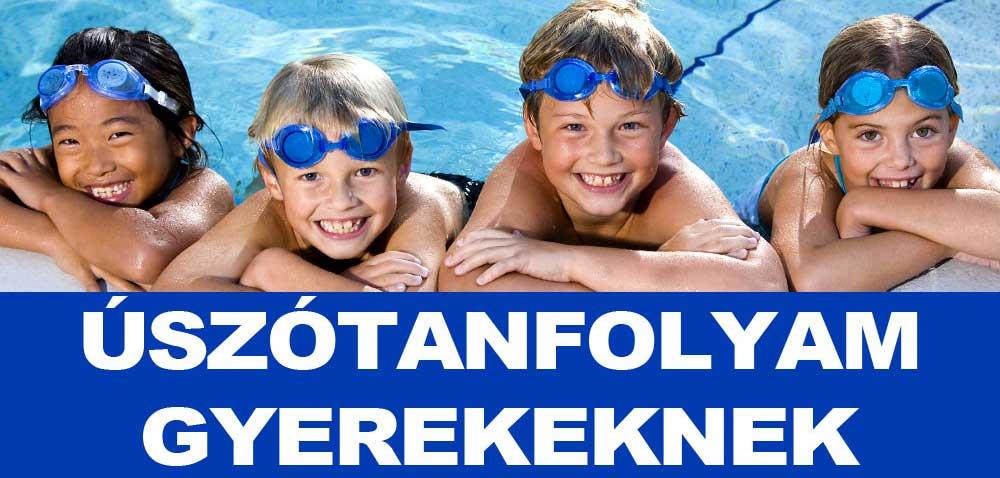 Úszótanfolyam gyerekeknek