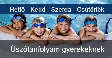 Úszásoktatás gyerekeknek